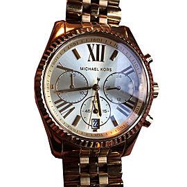 Michael Kors Lexington MK5556 Chronograph Gold Tone Stainless Steel Watch