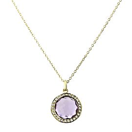 Ippolita 18k Gold Rock Candy Mini Lollipop Pendant Necklace