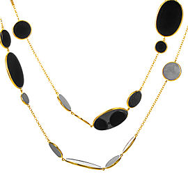 Ippolita 18K Yellow Gold Rock Candy Onyx Necklace