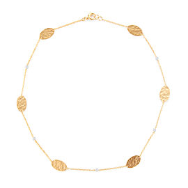 I.Reiss 14K Yellow Gold 0.08 Diamond Necklace