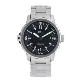 IWC Aquatimer IW329002 Stainless Steel Black Dial 42mm Watch