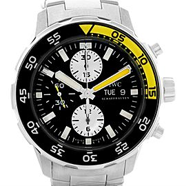 IWC Aquatimer IW376701 Stainless Steel Automatic Chronograph Day Date 44mm Mens Watch