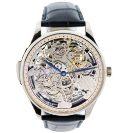 IWC Portuguese Squelette Skeleton Minute Repeater IW524101 18K White Gold 43mm Mens Watch