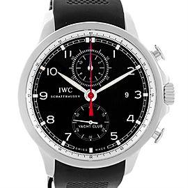 IWC Portuguese Yacht Club IW390210 Chronograph Rubber Strap 45.4mm Mens Watch