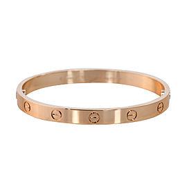 Cartier Love Bracelet Rose Gold Size 18