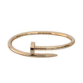 Cartier Juste Un Clou Bracelet Rose Gold Size 19