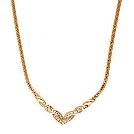 14K Yellow Gold 0.56ct. Diamond Necklace