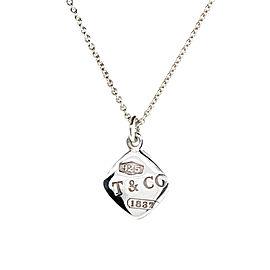 Tiffany & Co. Diamond Shape Pendant Necklace