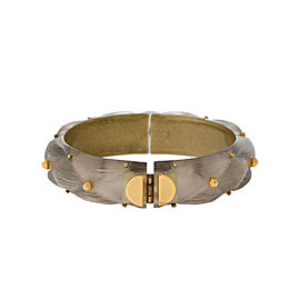 Alexis Bittar Lucite Hinged Cuff Bracelet
