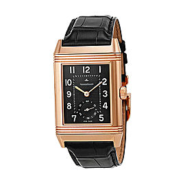 Jaeger Lecoultre Grande Reverso Black Dial Watch