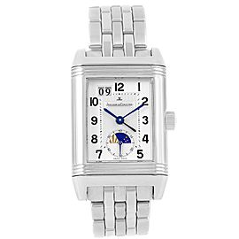 Jaeger LeCoultre Grande Reverso 240.8.72 Q3038420 Stainless Steel Date Automatic 29mm Mens Watch