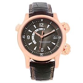 Jaeger Lecoultre Master Compressor Memovox 146.2.97 18K Rose Gold 41mm Mens Watch