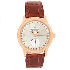 Jaeger Lecoultre 140.2.87 18K Rose Gold Automatic 37mm Mens Watch