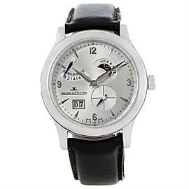 Jaeger Lecoultre Reserve De Marche Q1608420 Stainless Steel 40mm Mens Watch