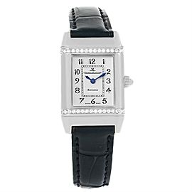 Jaeger LeCoultre Reverso 265.8.08 Stainless Steel & Diamond 20mm Womens Watch