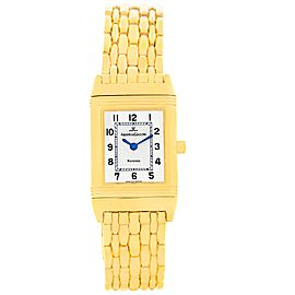 Jaeger LeCoultre Reverso Q2611110 18K Yellow Gold 20.5mm Womens Watch