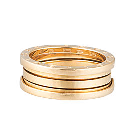Bulgari 18k Yellow Gold B.Zero1 3 Band Ring Size 10.25