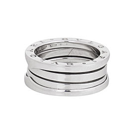 Bulgari B.Zero1 18K White Gold Band Ring