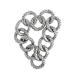Bottega Veneta Sterling Silver Link Bracelet