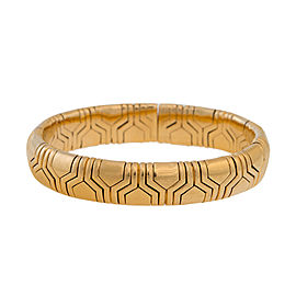 Bulgari Parentesi 18K Yellow Gold Cuff Bracelet