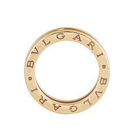Bvlgari B.Zero1 Band 18K Yellow Gold Ring Size 6.25