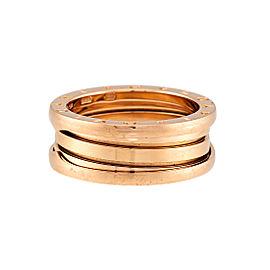 Bulgari 18K Rose Gold B.zero1 Ring Size 8.75