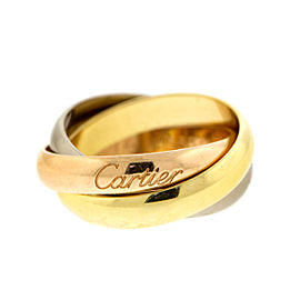 Cartier 18k Gold Trinity Ring Sz 4.75