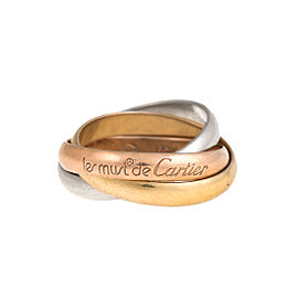 Cartier Must de Cartier Trinity Ring 7.25
