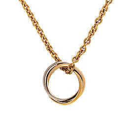 Cartier 18K Trinity Gold Necklace
