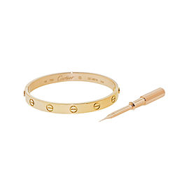 Cartier Love Bracelet Rose Gold Size 16