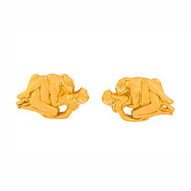 Carrera Y Carrera 18K Yellow Gold Cufflinks
