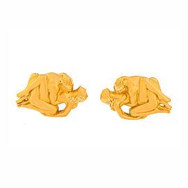Carrera Y Carrera 18K Yellow Gold Cufflinks