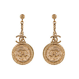 Chanel Clover Drop Earrings