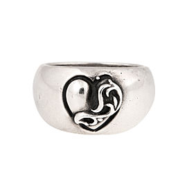 Chrome Hearts 925 Sterling Silver Ring Size 8.5