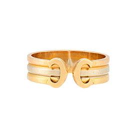 Cartier C de Carier Ring Size 7.25