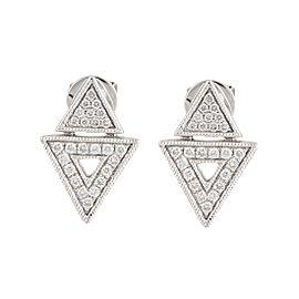 Dana Rebecca 14K White Gold Jemma Morgan 0.26ct. Diamond Stud Earrings