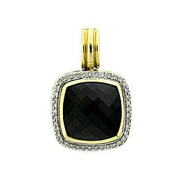 David Yurman Onyx Albion Diamond Pendant