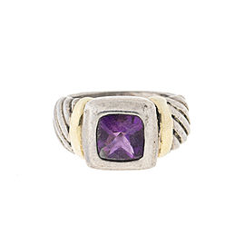 David Yurman Amethyst Ring Size 6.25