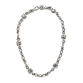 John Hardy 925 Sterling Silver Kali Station Necklace