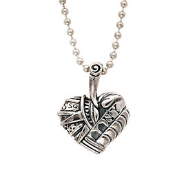 Lagos Sterling Silver Heart of NY Pendant Necklace