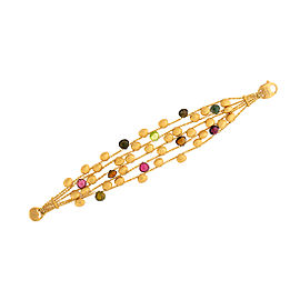 Marco Bicego 18K Yellow Gold with Paradise Mixed Stone Bracelet