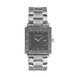 Tiffany & Co. Atlas Stainless Steel Quartz 28mm Unisex Watch