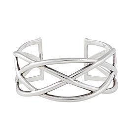 Tiffany & Co. Sterling Silver Celtic Knot Cuff Bracelet