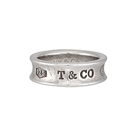 Tiffany & Co. Sterling Silver 1837 Band Ring Size 7