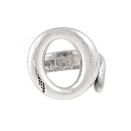 Tiffany & Co. Sterling Silver Open 'O' Ring Size 5.25