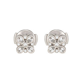 Tiffany & Co. 950 Platinum Enchant 0.35ctw Diamond Earrings