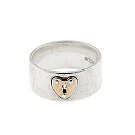 Tiffany & Co. Locks Heart Lock Ring