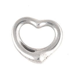 Tiffany & Co. Elsa Peretti 0.925 Sterling Silver Open Heart Pendant