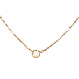 Tiffany & Co. 18K Yellow Gold Diamonds by the Yard Necklace