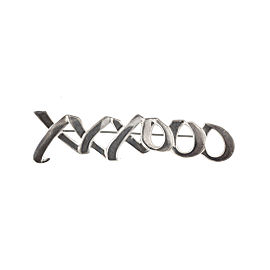 Tiffany & Co. Sterling Silver XoXo Pin